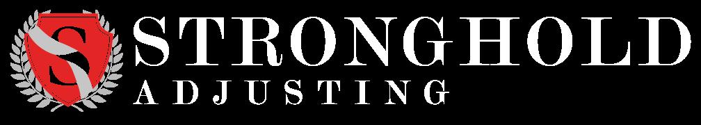 Stronghold Adjusting White Logo